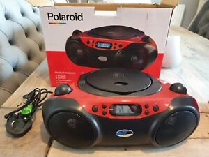 Polaroid Bluetooth CD Boombox with Radio