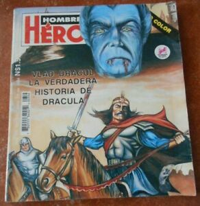 HOMBRES comic VLAD TEPES biography DRACULA VAMPIRE dracul MONSTER HORROR vintage