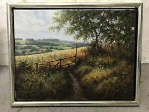 Gemälde von Terence Grundy, 30x40 Bildmaß, gerahmt