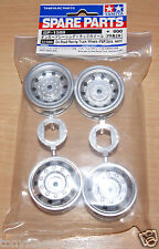 Tamiya 51588 On Road Racing Truck Wheels (F&R/2 Pcs. Each) (MAN Hahn/TT01)