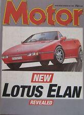 Motor magazine 20/2/1988 featuring Toyota Celica GT-four road test, Alfa Romeo