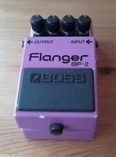 Boss BF2 Japan 1988 Flanger guitar effects pedal Vintage MIJ