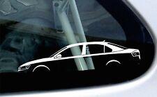 2x silhouette stickers aufkleber -for VW Jetta mk6 sedan Volkswagen (2011-)