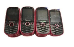 11 Lot Samsung Intensity SCH-U450 CDMA Cellular Slider Phone Sprint 128MB 2.1""