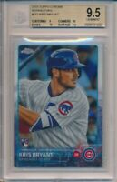 2015 Topps Chrome Kris Bryant Refractors RC #112 BGS 9.5 Cubs #1037
