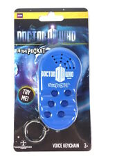 Doctor Who Talking Voice Keychain Key Fob In Your Pocket w/6 Sound Effects OOP