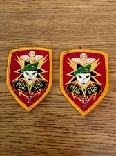 2 MAC SOG Marines Special Forces Military Shoulder Sleeve Uniform Patches  NEW