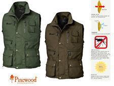 Pinewood Herren Outdoorweste Tiveden XXL Gr/ün Midgreen//137