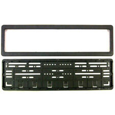 CAR Number Plates Frame - (number plates holders)-Front and Back