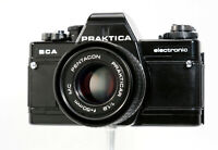 Praktica BCA Electronic 35mm Film SLR+Pentacon 50mm f1.8 Lens,Clean, Film Tested