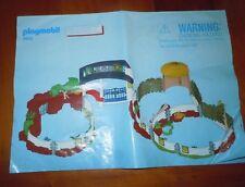 Playmobil Set # 4850 African Animal Enclosure Zoo Instruction Manual Only EUC