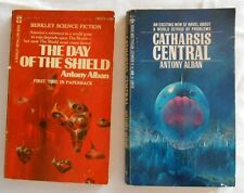 Lot of 2 Antony Alban Paperback Books Catharsis Central The Day of the Shield