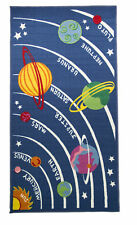 Matrix Kiddy Planets Multi - 100 x 190 cm