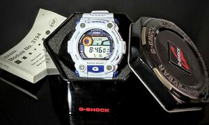 casio G-shock G7900a-7 RARE White Rescue Excellent Collection! Screen perotector