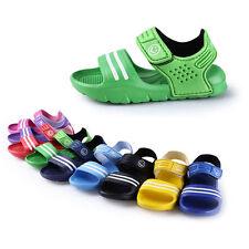 4bddaff4285b 1 Pair Casual Children Kids Shoes Baby Boy Closed Toe Summer Beach Sandals  Flat