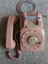 Vintage 1960s WESTERN ELECTRIC Pink C/D 500 4-59 Rotary Dial Table Telephone