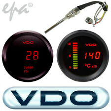 DIGITAL VDO PYRO EGT TEMP+ TURBO BOOST TOYOTA LANDCRUISER 60 70 75 80 100 SERIES