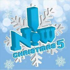 NOW CHRISTMAS 5 -VAR (CD) RIHANNA TRAIN COLDPLAY READY RAE LENNOX MAROON5 RAMSAY