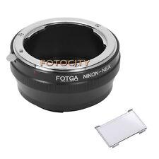 Nikon AI Lens to Sony Mount Adapter Ring NEX-3 NEX-5 A7R Camera+LCD Monitor Hood