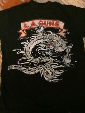 RARE LA Guns t shirt 1989 Cocked and Loaded VINTAGE Guns n Roses Sunset Strip