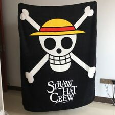 One piece hat Pirates LOGO uniex Blankets Throws quilt manga blankets nap