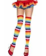Acrylic Rainbow Leg Warmers - Music Legs 4252