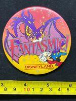 Disney Pin Button - Disneyland - Fantasmic - Sorcerer Mickey - Dragon