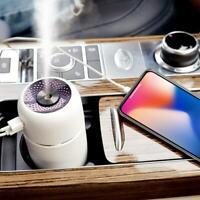 Air Purifier Humidifier Portable Car Indoor Mini Vaporizer Outlet USB M9M0