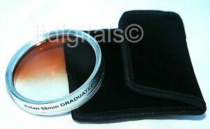 82mm Graduated Tobacco Glass Coated Lens Filter For 82 mm Lenses