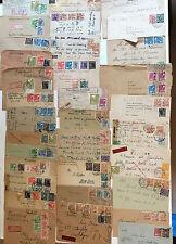 34 Belege Deutsche Post Arbeiter - sehr viel top Material - Destination USA