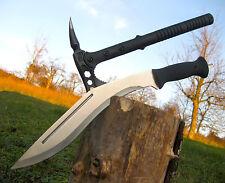 Gravedad Massive machete 46 cm + espinillas tomahawk salvamento hacha 42 cm-m006 + a018
