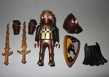16527, Einhornritter, Ritter, mit Helm, 2 Schwertern und Schild