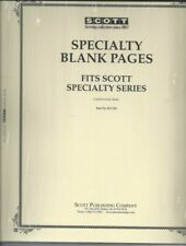 SCOTT Blank Pages Border a Specialty Series ACC110 20 Sheets