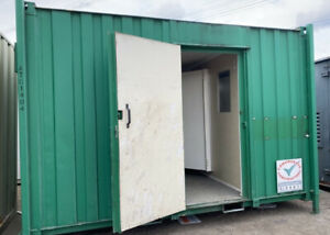 13ft 2 + 1 Toilet Block Site Cabin Container Welfare Unit Wc, Loo