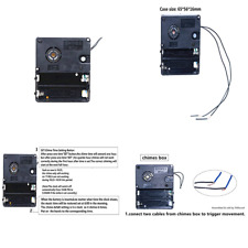 Westminister Chime Box for Movement with Hour Trigger Switch Clock Repair Replac