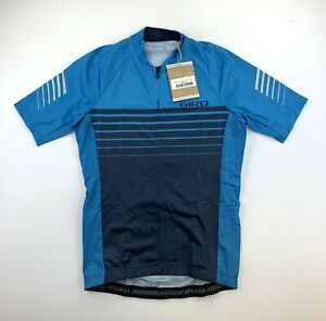 Giro Chrono Expert Cycling Jersey Men's Small Blue New with Tags
