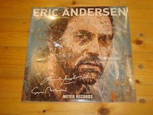 ERIC ANDERSEN & OLIVER JORDAN Albert Camus MEYER 2 x10´´ LP Signed Signiert