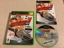 Burnout 3 Fall Original OLD Xbox Spiel Jungen Mädchen Autos Racing fastpost
