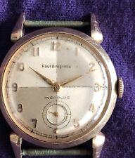 Paul Breguette 10k Gold Filled D&A Incaboloc Watch Vintage SelfWinding MCM works