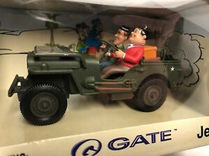 Laurel & Hardy in Jeep Adventures GATE 2001 Gateway Global 1:32 scale