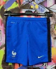 France National Football Team Soccer Shorts FFF Nike Youth Size M 10-12 years