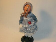 Byers Choice 1992 Red-Headed Girl with Apple & Coin