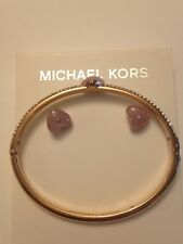 Michael Kors jewelry Set earrings and bracelet