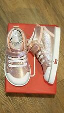 New See Kai Run Peyton rose shimmer hi top sneakers,tod 8,NWT