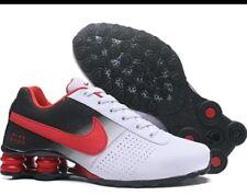 HOT NEW Men's Nike Shox Running Shoes Size 8 Red/Black/White
