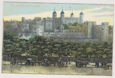 London postcard - The Tower of London & Mint (A833)