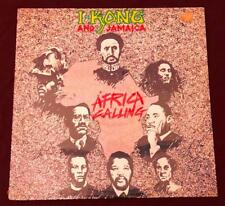 I Kong and Jamaica ~ 1987 Africa Calling New & Still Sealed Reggae LP Record
