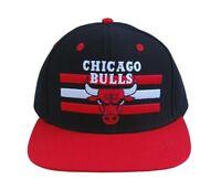 Chicago Bulls Adjustable Billboard Black/Red Snapback Hat Cap