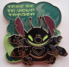 Disney Pin 83328 DLR Sci-Fi Academy Take Me To Your Trader Stitch Experiment LE