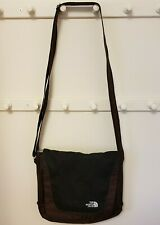 The North Face Siena Brown Nylon Cross Body Shoulder Bag Purse